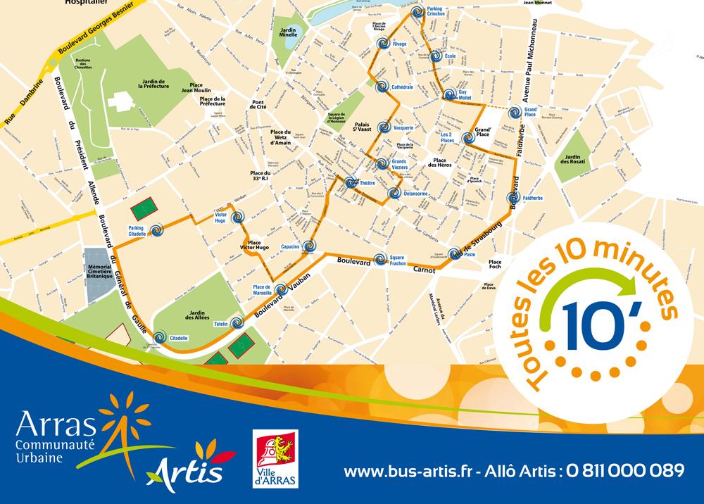 Parking Arras Centre Ville
