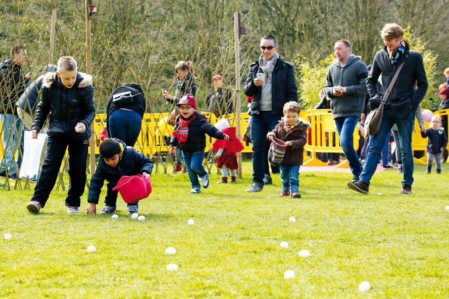 La chasse à l'oeuf - Lundi de Pâques